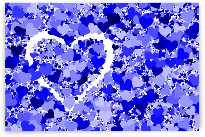 Heart Love blue by Thula-Photography