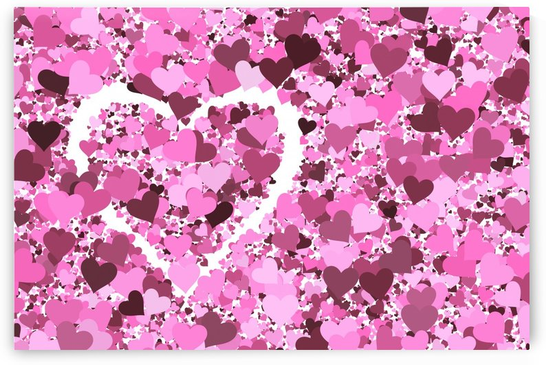 Heart Love pink by Thula-Photography