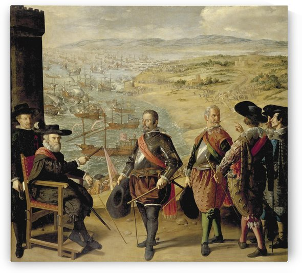 The Defence of Cadiz against the English by Francisco de Zurbaran