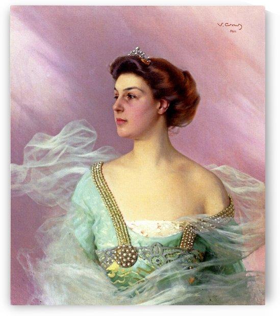 Portrait of a Lady by Francisco de Zurbaran