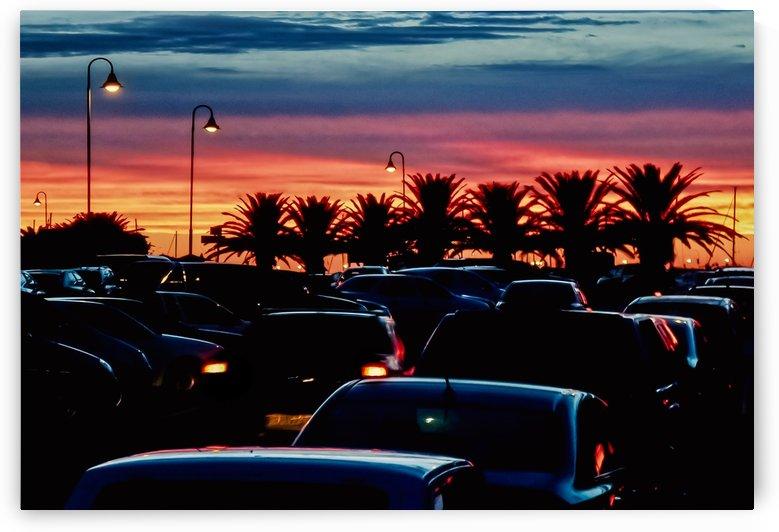 Urban Sunset Scene, Punta del Este   Uruguay by Daniel Ferreia Leites Ciccarino