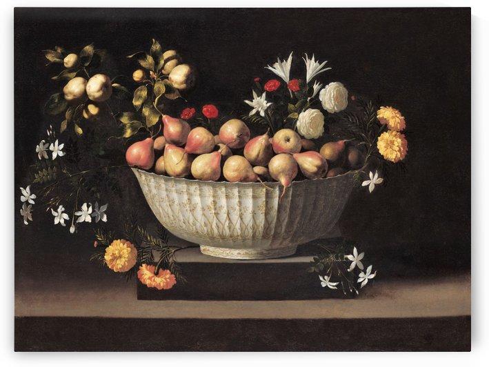 Bowl with fruits by Francisco de Zurbaran