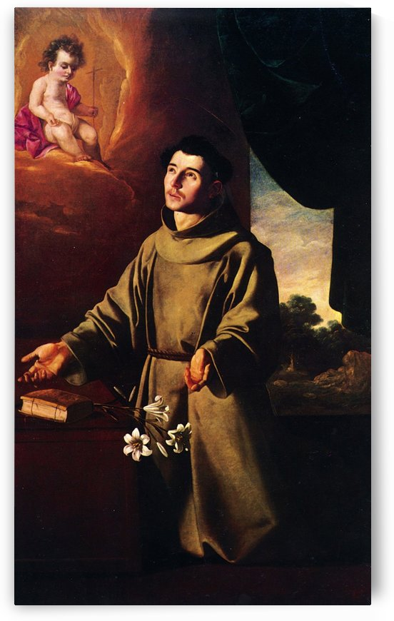 The Vision of Saint Anthony by Francisco de Zurbaran