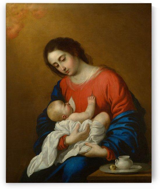 Breastfeeding by Francisco de Zurbaran