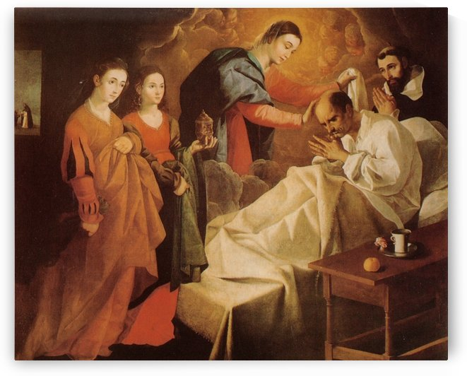 Miraculous Healing of the Blessed Reginald of Orleans by Francisco de Zurbaran