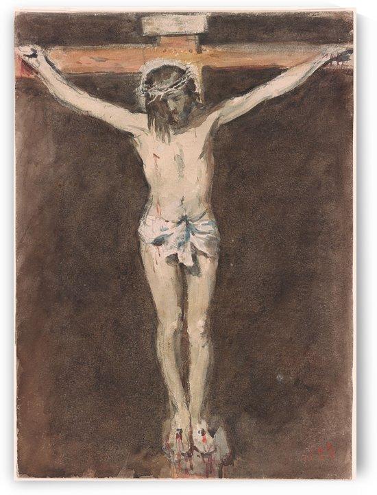Christ on the Cross by Francisco de Zurbaran