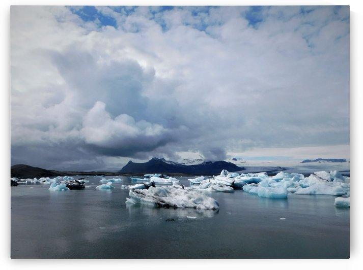 Ice Lagoon II by Katheryn E Mohn