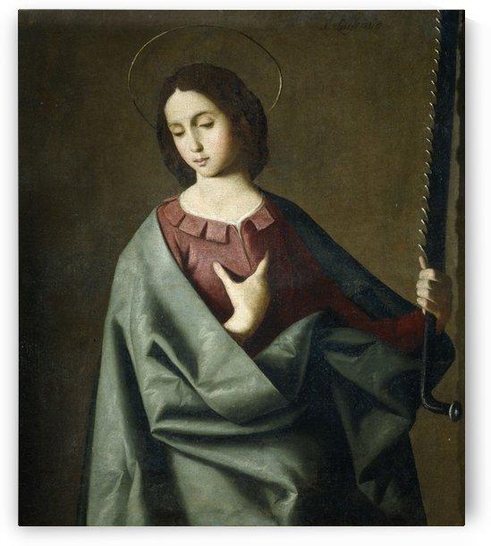 Lienzo de la Santa by Francisco de Zurbaran