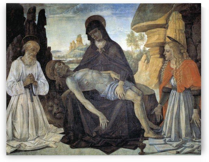 Pietro Perugino by Francisco de Zurbaran