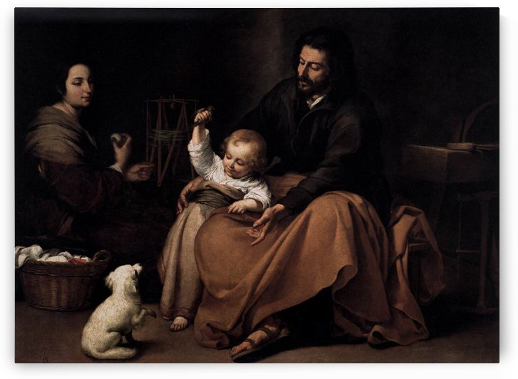 The Holy Family with St Catherine by Francisco de Zurbaran