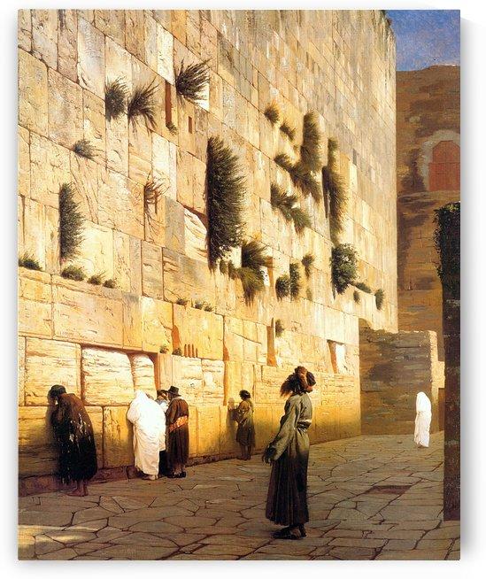 Solomon Wall by Jean-Leon Gerome