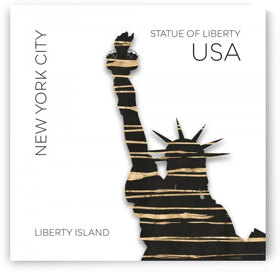 Urban Art NYC Statue of Liberty by Melanie Viola