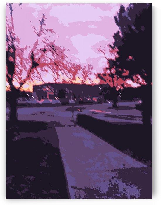 Street scene 2 by Sania Zehra