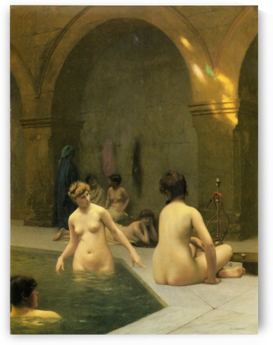 The Bathers by Jean-Leon Gerome