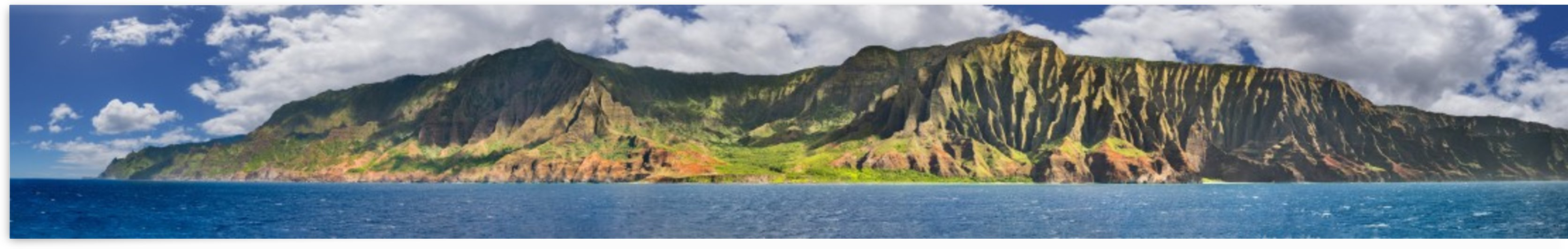 Napali Coast very large by Dave Tonnes