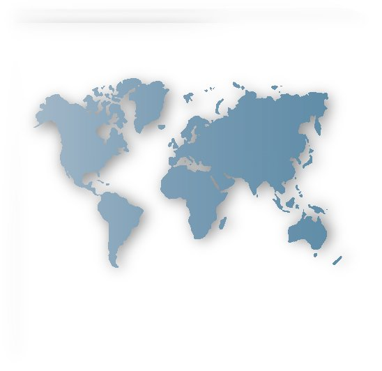 GREY WORLD MAP by rizu_designs