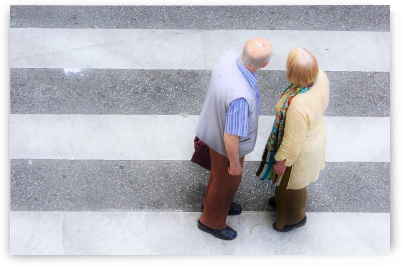 Pedestrian crossing by Alen Gurovic