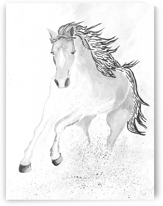 Galloping Horse  by Maltez