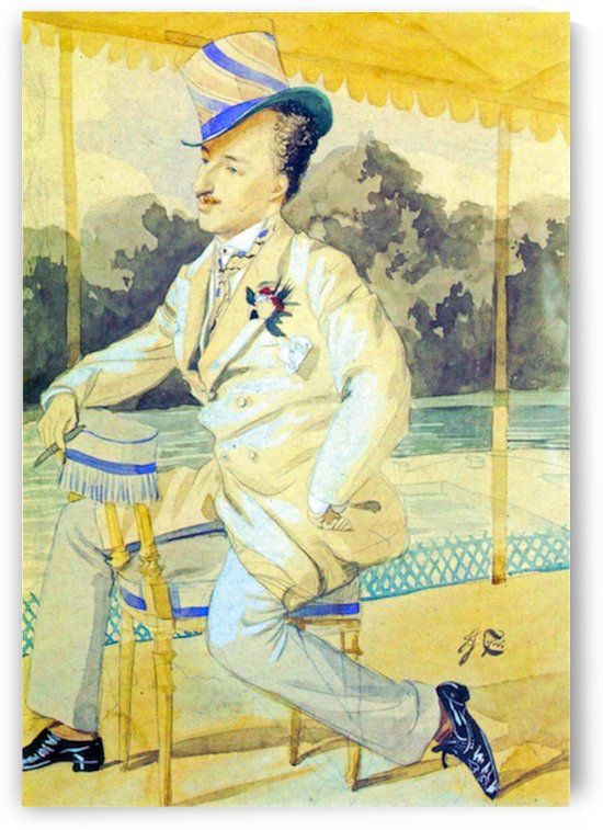 A dandy by Tissot by Tissot