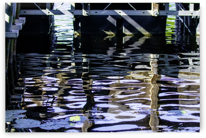 water reflection by Joe Riederer