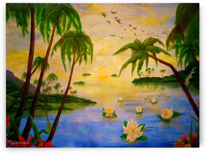 Tropical Perspective by Faye Anastasopoulou