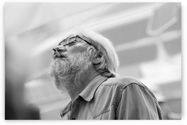 Man with beard by Alen Gurovic