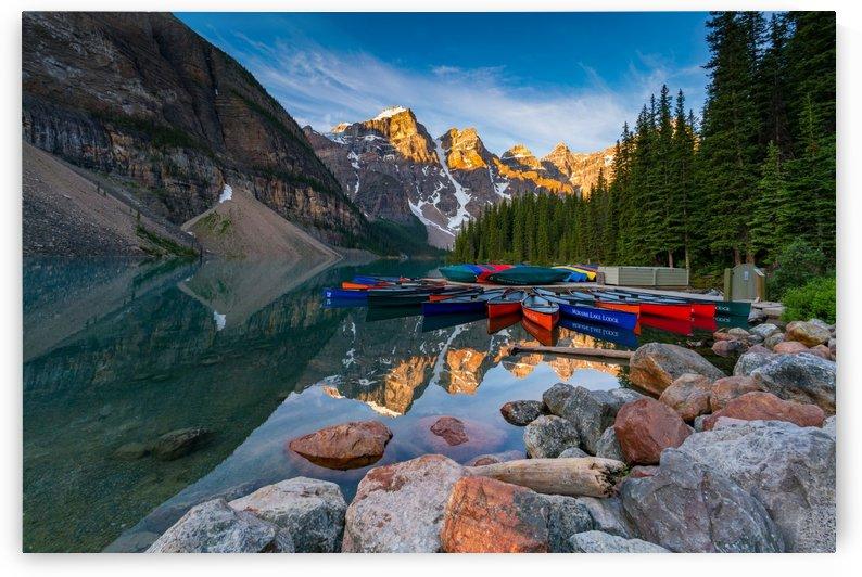 Moraine Lake Landscape by Santo Jin Photography