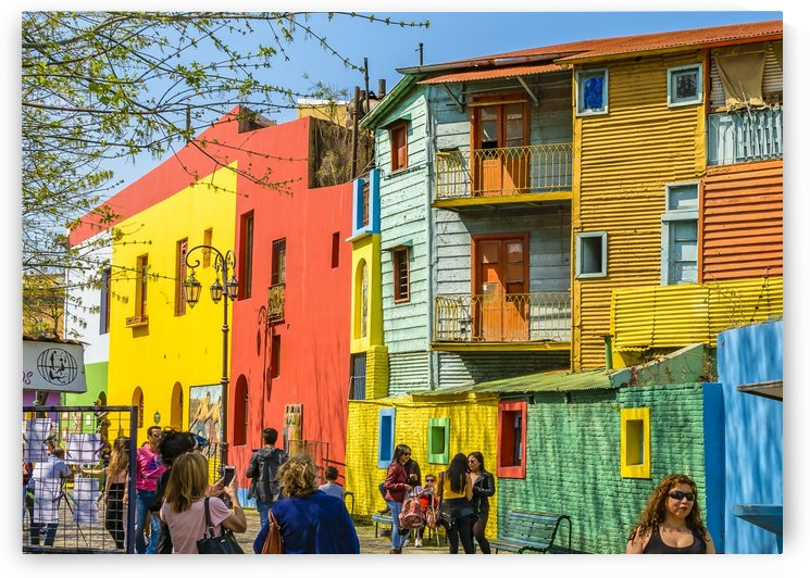 La Boca, Buenos Aires, Argentina by Daniel Ferreia Leites Ciccarino