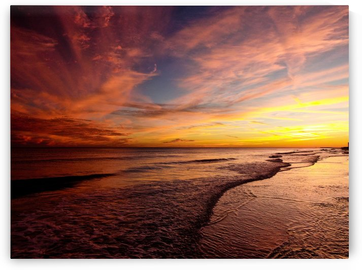 Starwars Beach Sunset  by Destin30A Drone