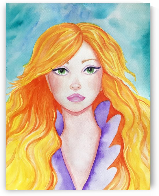 Water Color Golden Hair by Roxie Colors