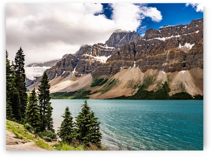 A Lake in Alberta by Dave Therrien