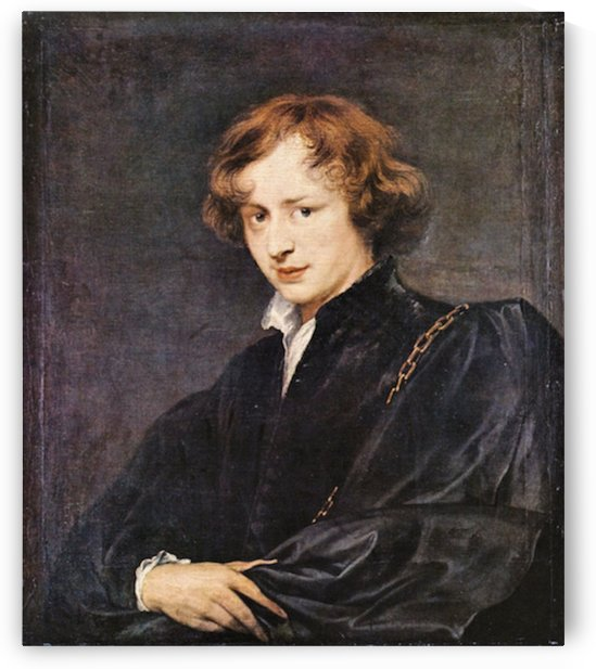 A self portrait by Van Dyck by Van Dyck