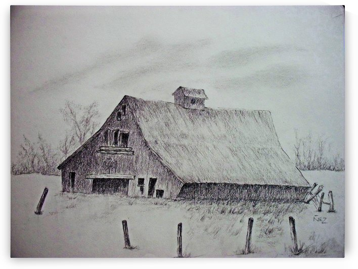 A Barn by Efrain Montanez