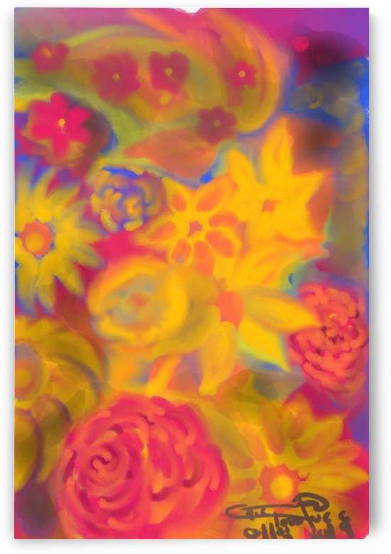 floral 4 by Eric  Todd Price