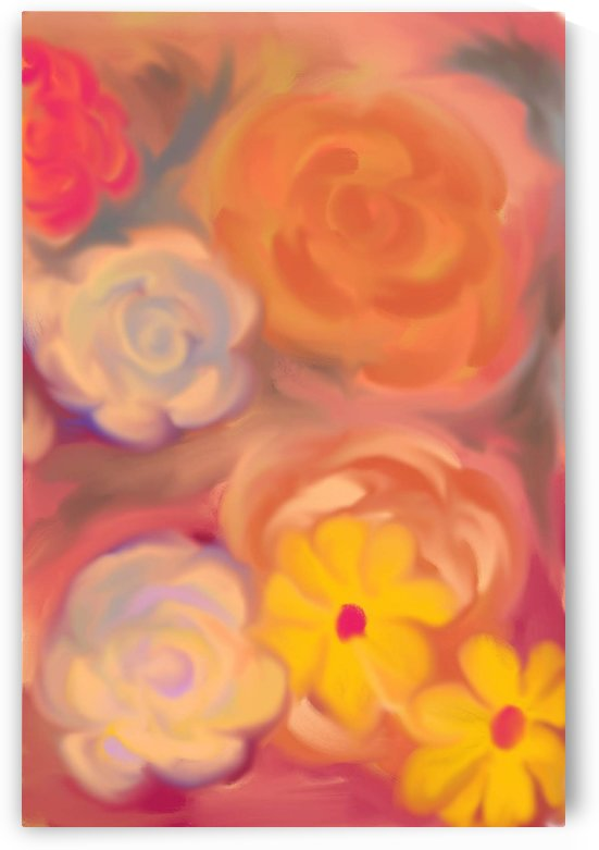 floral 5 by Eric  Todd Price