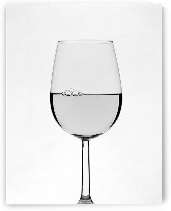 White Wine B&W by Ian Barr