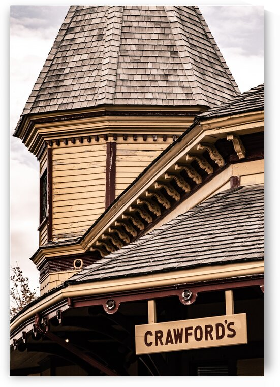 Crawford Notch Train Station 5 by Dave Therrien