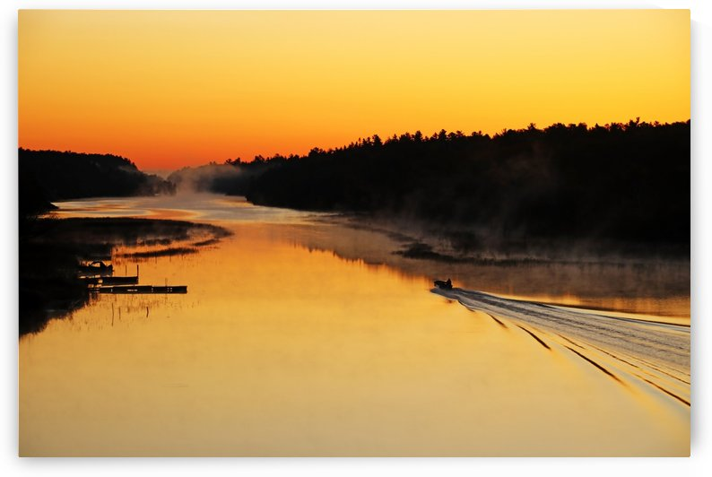 On The Move At Sunrise by Deb Oppermann