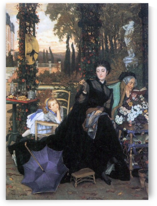 A widow by Tissot by Tissot