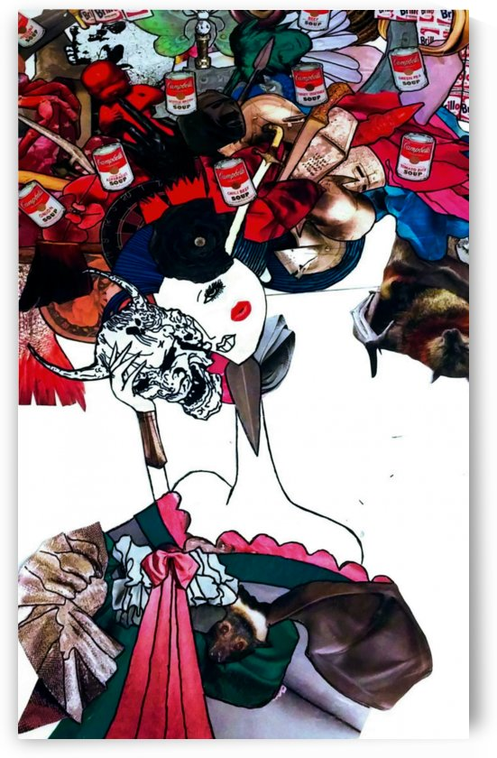 masked geisha by Bratty ART