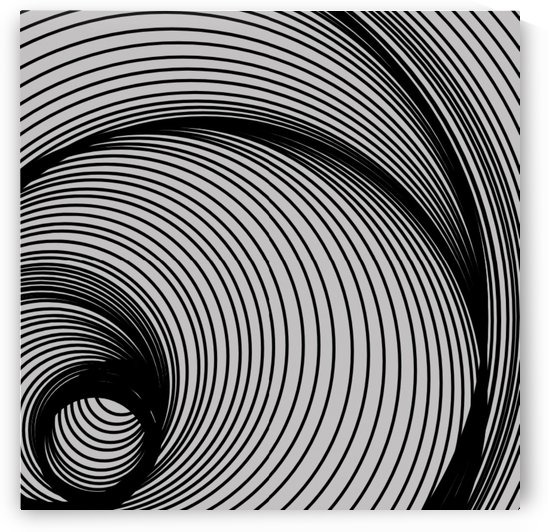 OP ART II  No 18 by Rosa Lopez