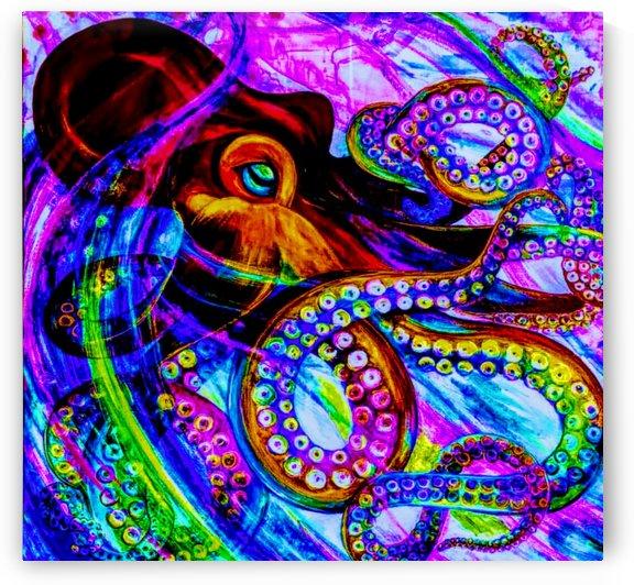 cape cod octopus  by Bratty ART