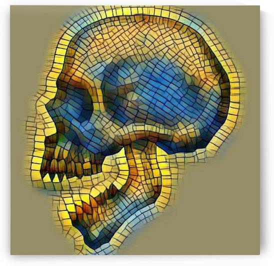 mosaic skull by Bratty ART