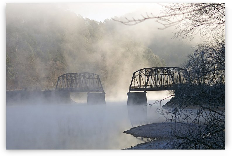 Broken Bridge  by Andy Griner