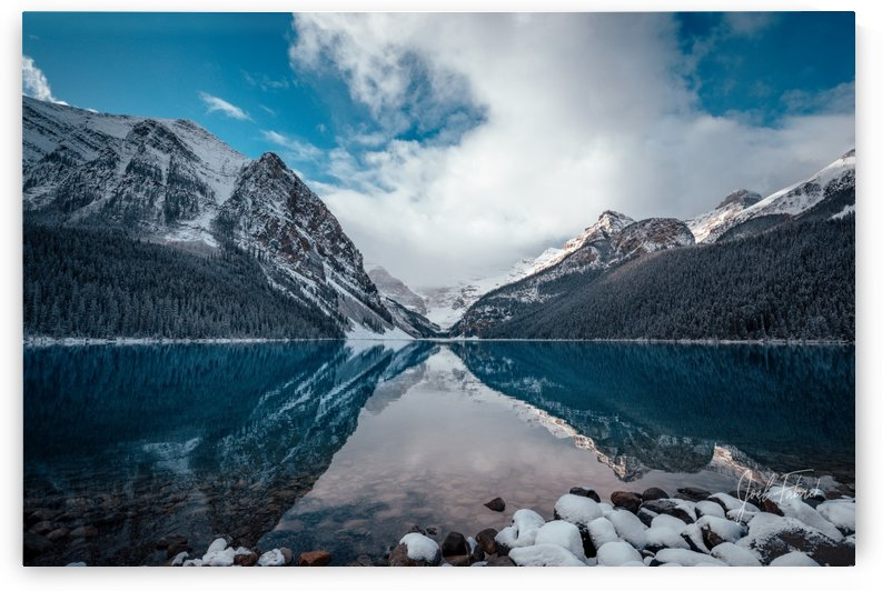 Lake Lousie Reflections by Joel Fabrick