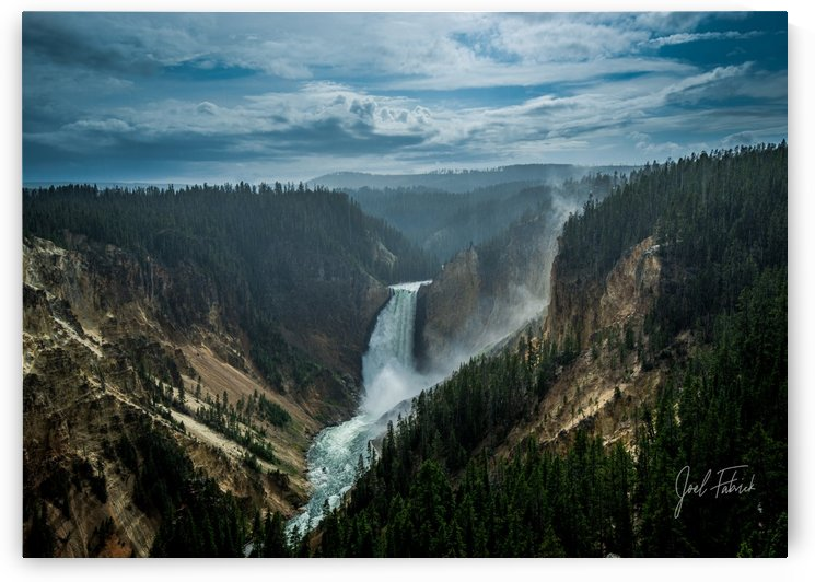Yellowstone Lower Falls by Joel Fabrick