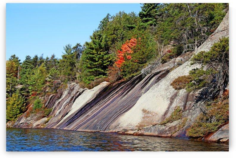 Rock Design Key River II by Deb Oppermann