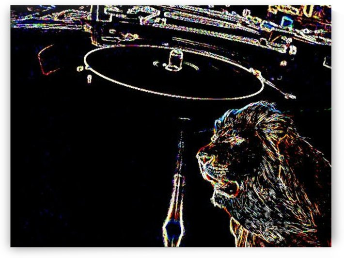 dub plate lion by KINS
