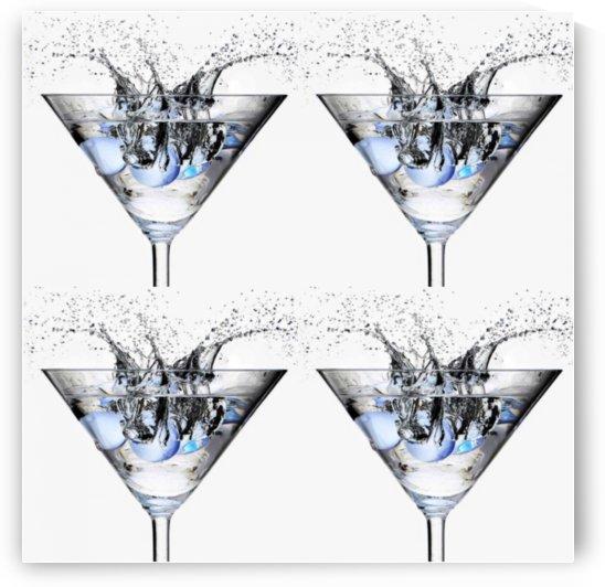 martini art by Bratty ART