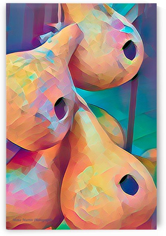 Gourd Birdhouses by Mona Martin